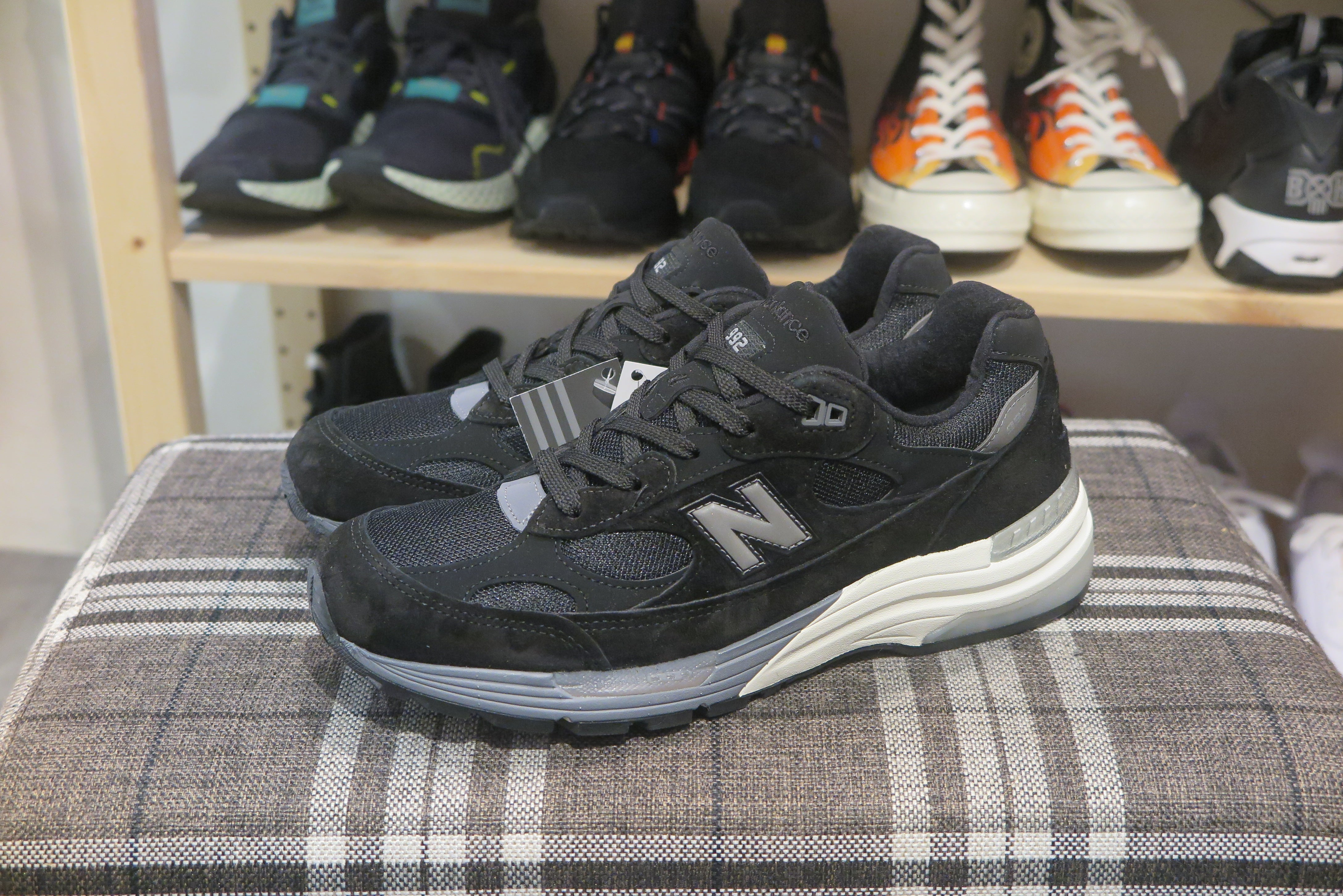 New Balance M992BL Made in USA-Sneakers-Navy Selected Shop