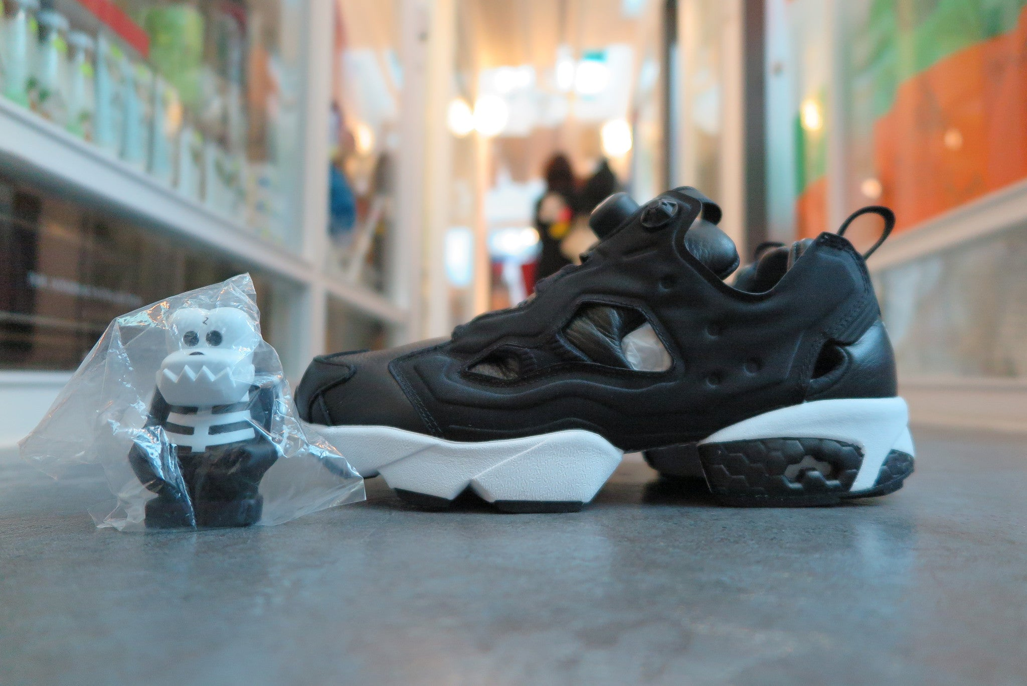 Bounty Hunter x Packer Shoes x ATMOS X Reebok Instapump Fury Affiliates - Black/White #AR1991-Sneakers-Navy Selected Shop