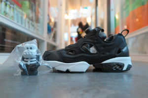 Bounty Hunter x Packer Shoes x ATMOS X Reebok Instapump Fury Affiliates in Black/White #AR1991-Sneakers-Navy Selected Shop