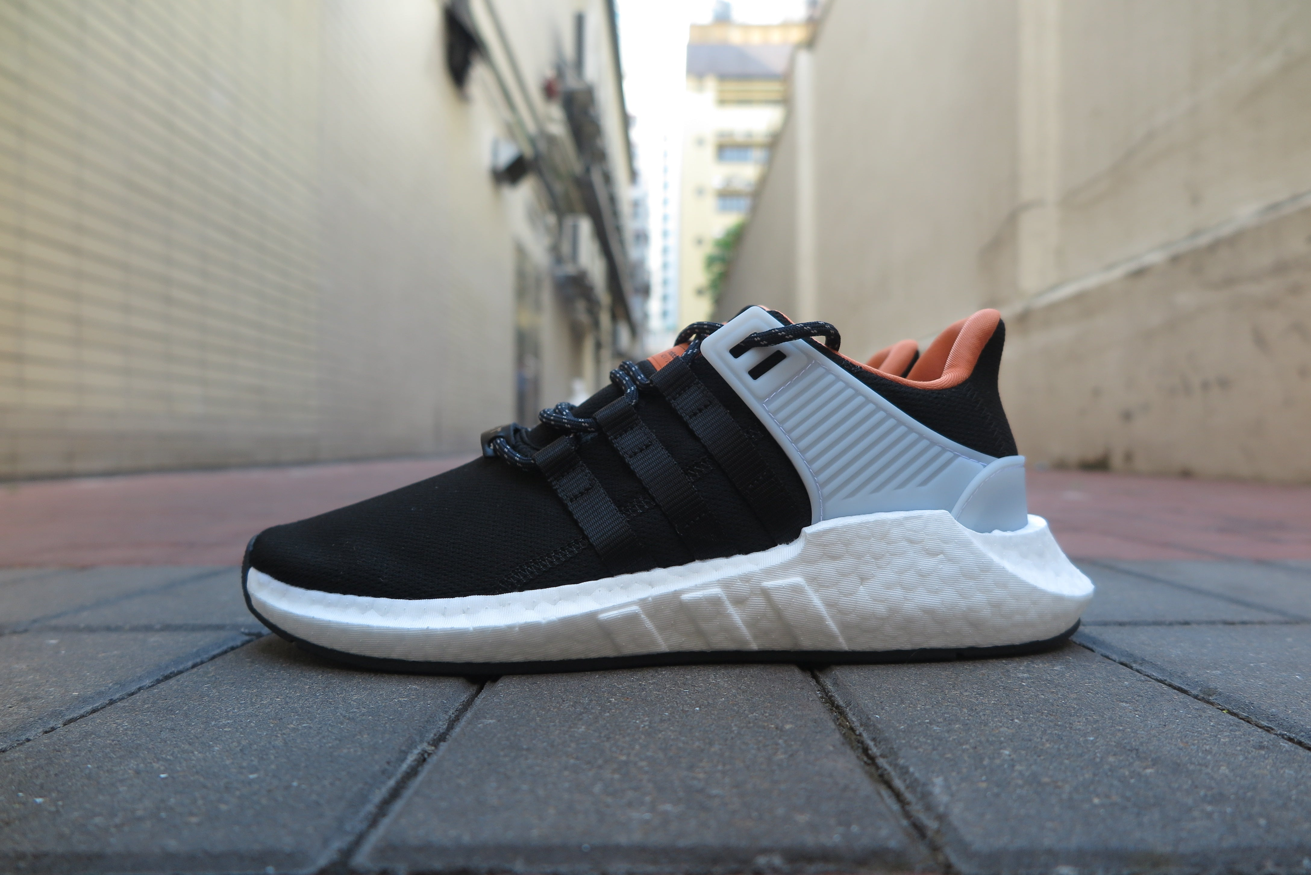 "adidas EQT Support 93/17 ""Welding Pack"" - Core Black/Footwear White #CQ2396-Sneakers-Navy Selected Shop"