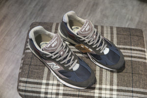 New Balance M991GNN Made in England-Sneakers-Navy Selected Shop