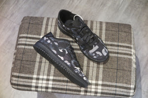 COMME des GARÇONS x Nike WMNS Dunk Low - Black/Black #CZ2675-001-Sneakers-Navy Selected Shop