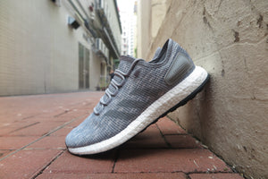adidas Pure Boost - Grey Three/Grey Two/Grey Two #BB6278-Preorder Item-Navy Selected Shop