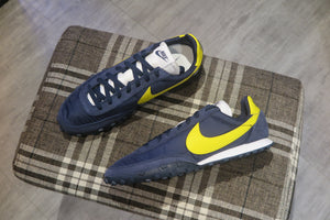 Nike Waffle Racer - Obsidian/Chrome Yellow/White #CN8116-400-Preorder Item-Navy Selected Shop