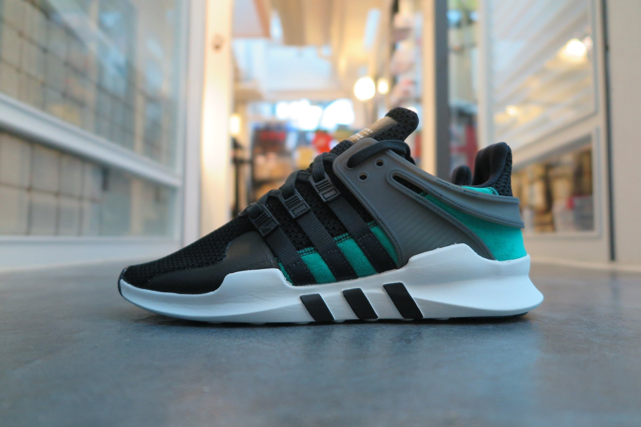 adidas Equipment Support ADV - Core Black/Sub Green/Vintage White #BA8323‬-Sneakers-Navy Selected Shop
