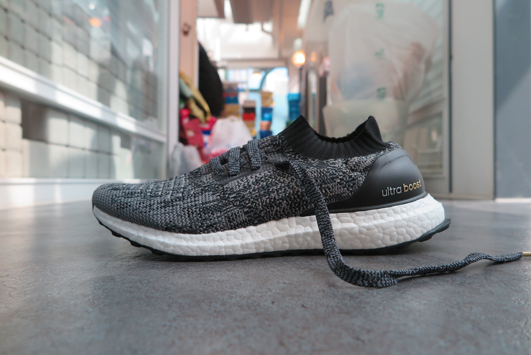 ultra boost uncaged grey ebay motors IIA Ghana