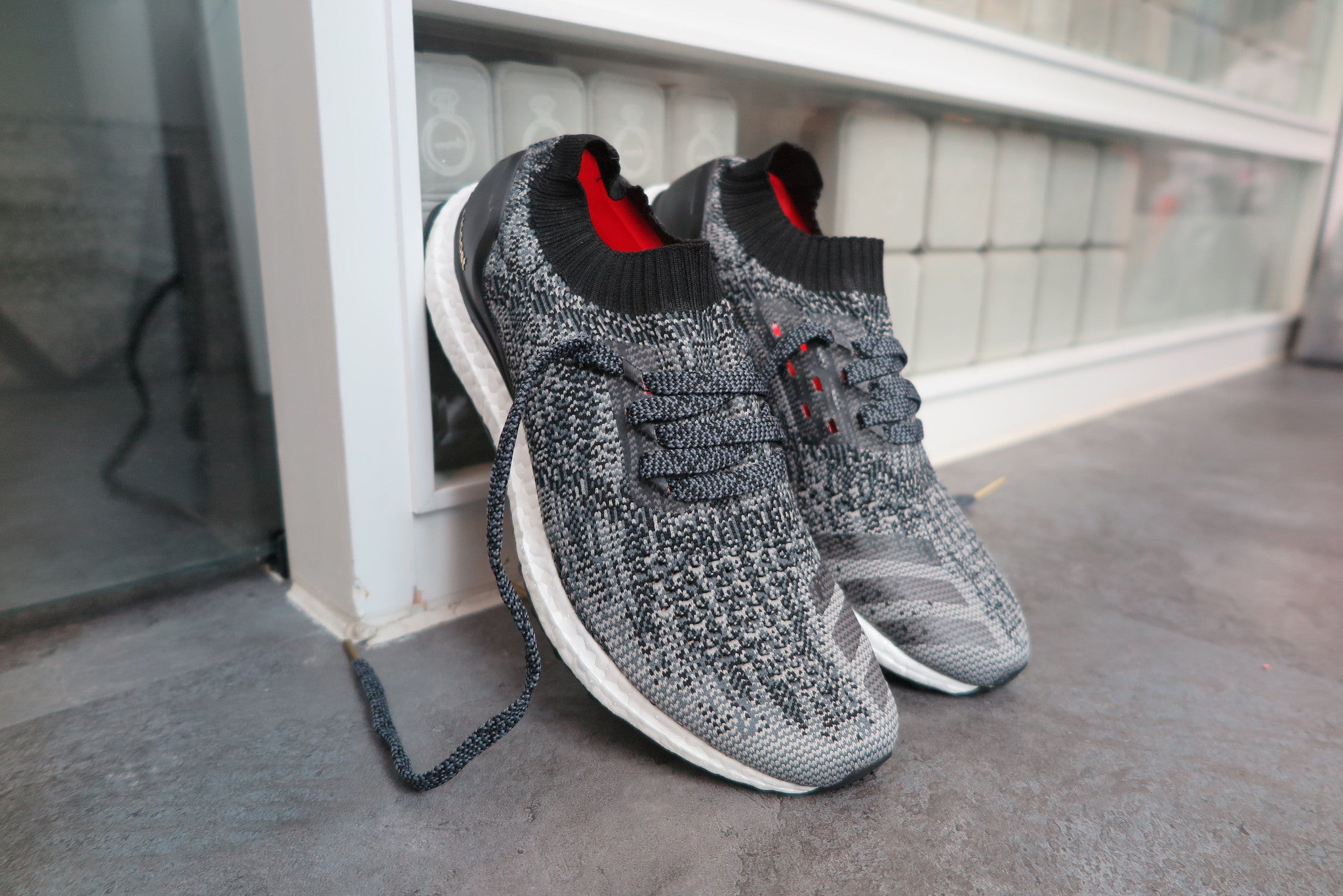 f9e4451dee1 Adidas Ultra Boost Uncaged Black Solid Grey Gold Metallic wallbank ...
