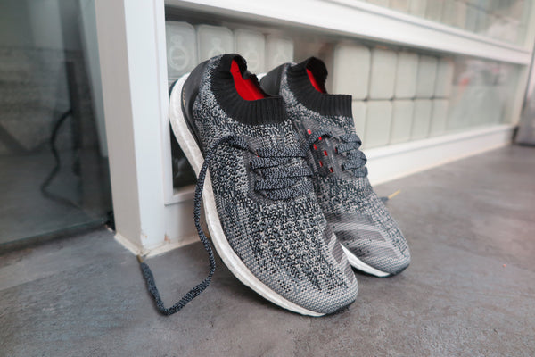 adidas Ultra Boost Uncaged - Core Black/Charcoal Solid Grey/Gold Metallic #BB3900-Sneakers-Navy Selected Shop