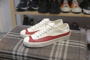 Pop Trading Company x Converse Jack Purcell Pro Low Top - Egret/Red #169007C-Preorder Item-Navy Selected Shop
