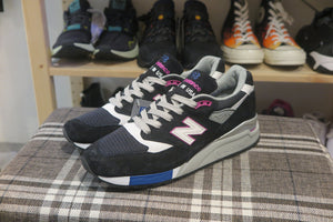 New Balance M998BK Made in USA-Preorder Item-Navy Selected Shop