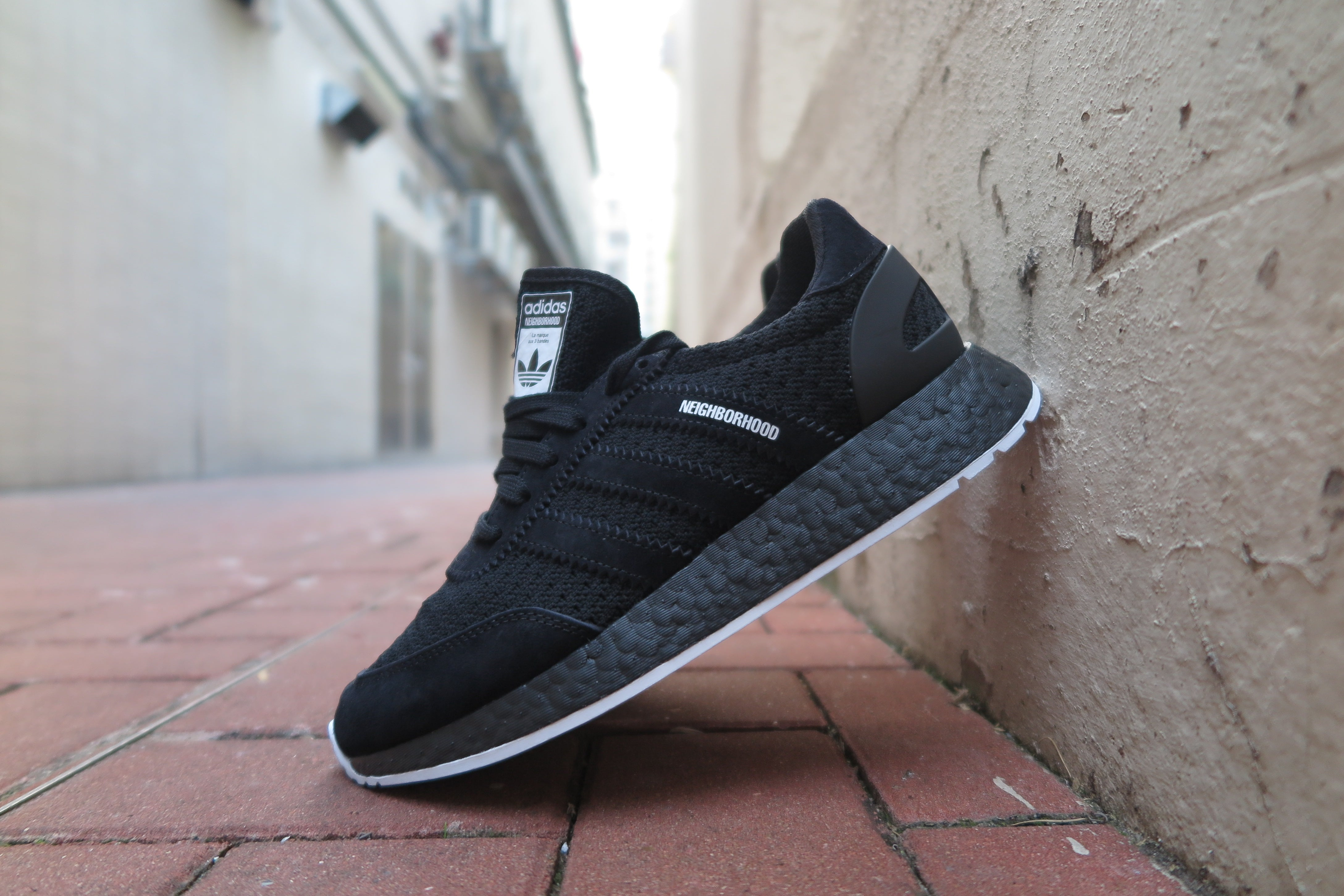 Neighborhood X adidas I-5923 - Core Black/Footwear White #DA8838-Sneakers-Navy Selected Shop
