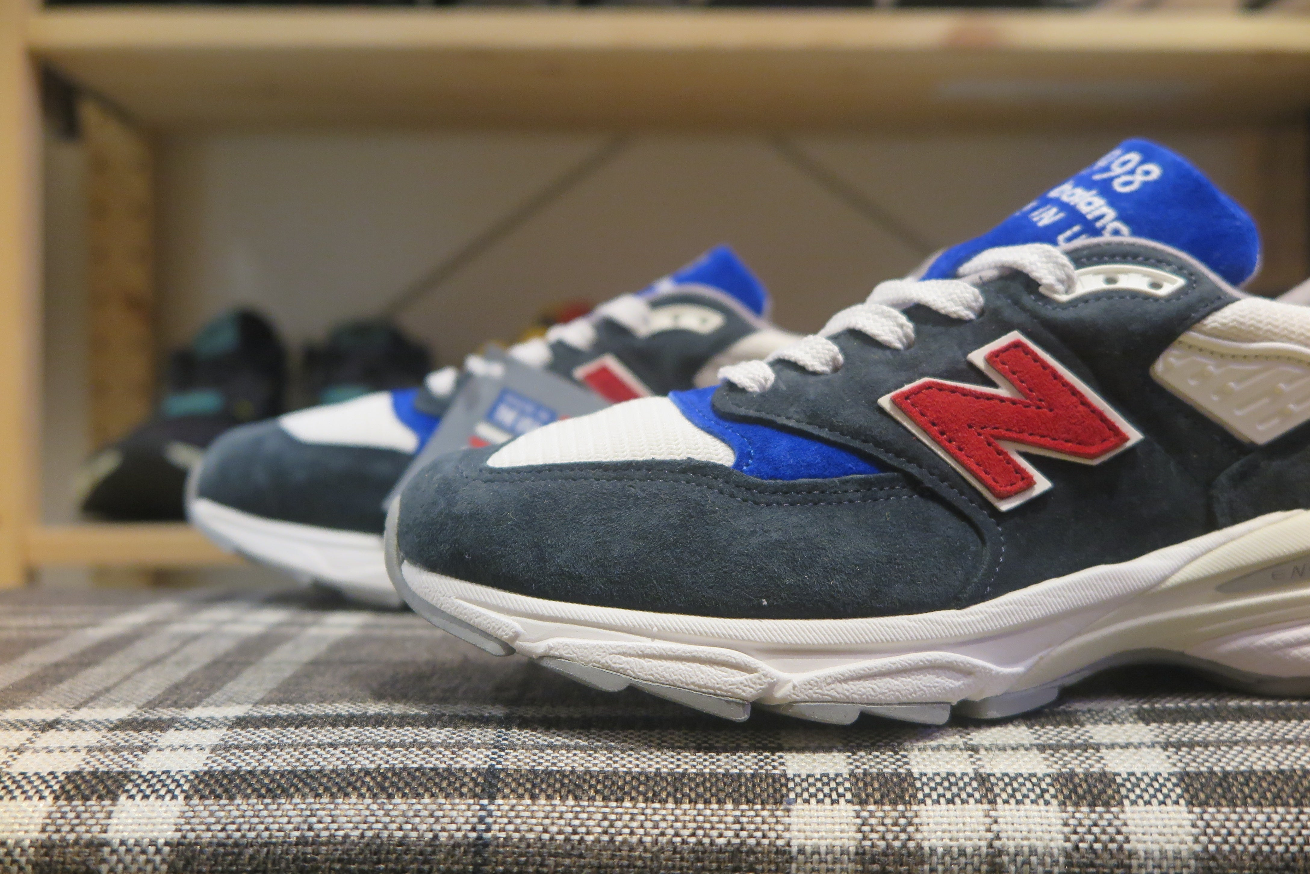 New Balance US998MC1 Made in USA-Sneakers-Navy Selected Shop