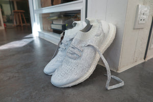 adidas Ultra Boost Uncaged LTD - Footwear White/Crystal White/Clear Grey #BB0773-Sneakers-Navy Selected Shop