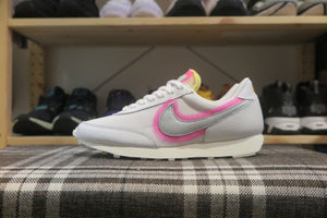 Nike WMNS Daybreak - White/Hyper Pink/Summit White/Metallic Silver #DA0983-100-Preorder Item-Navy Selected Shop