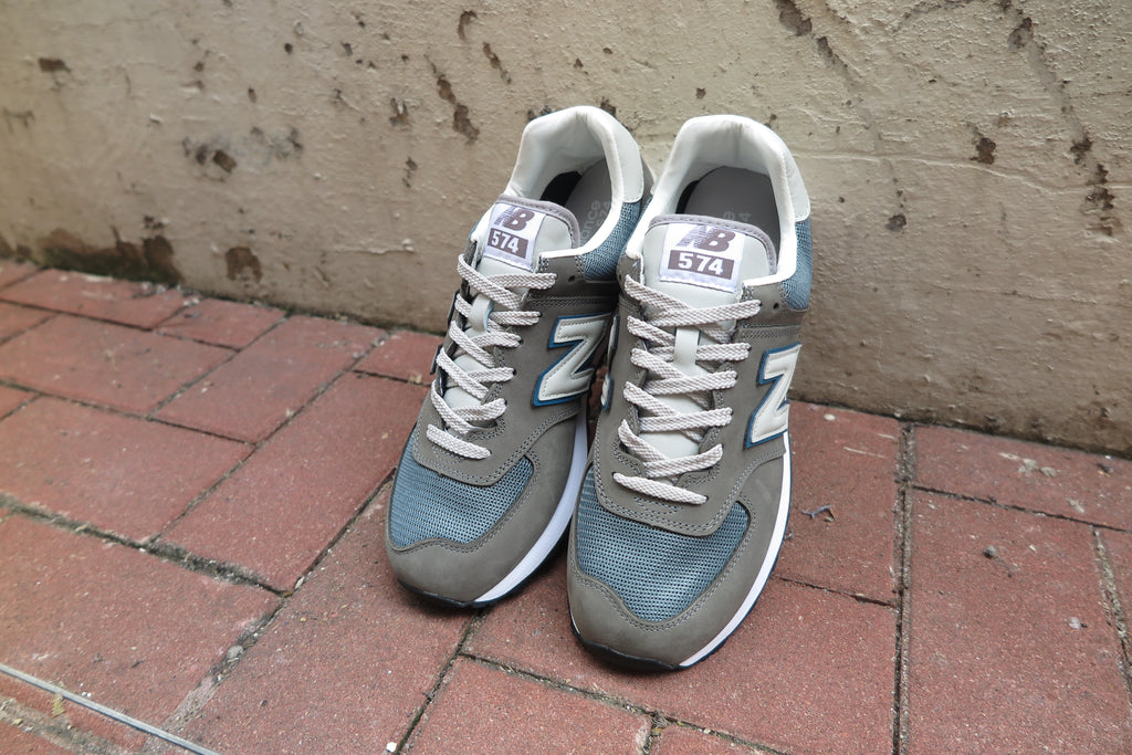 "New Balance ML574GYC ""Legacy Of Grey""-Sneakers-Navy Selected Shop"