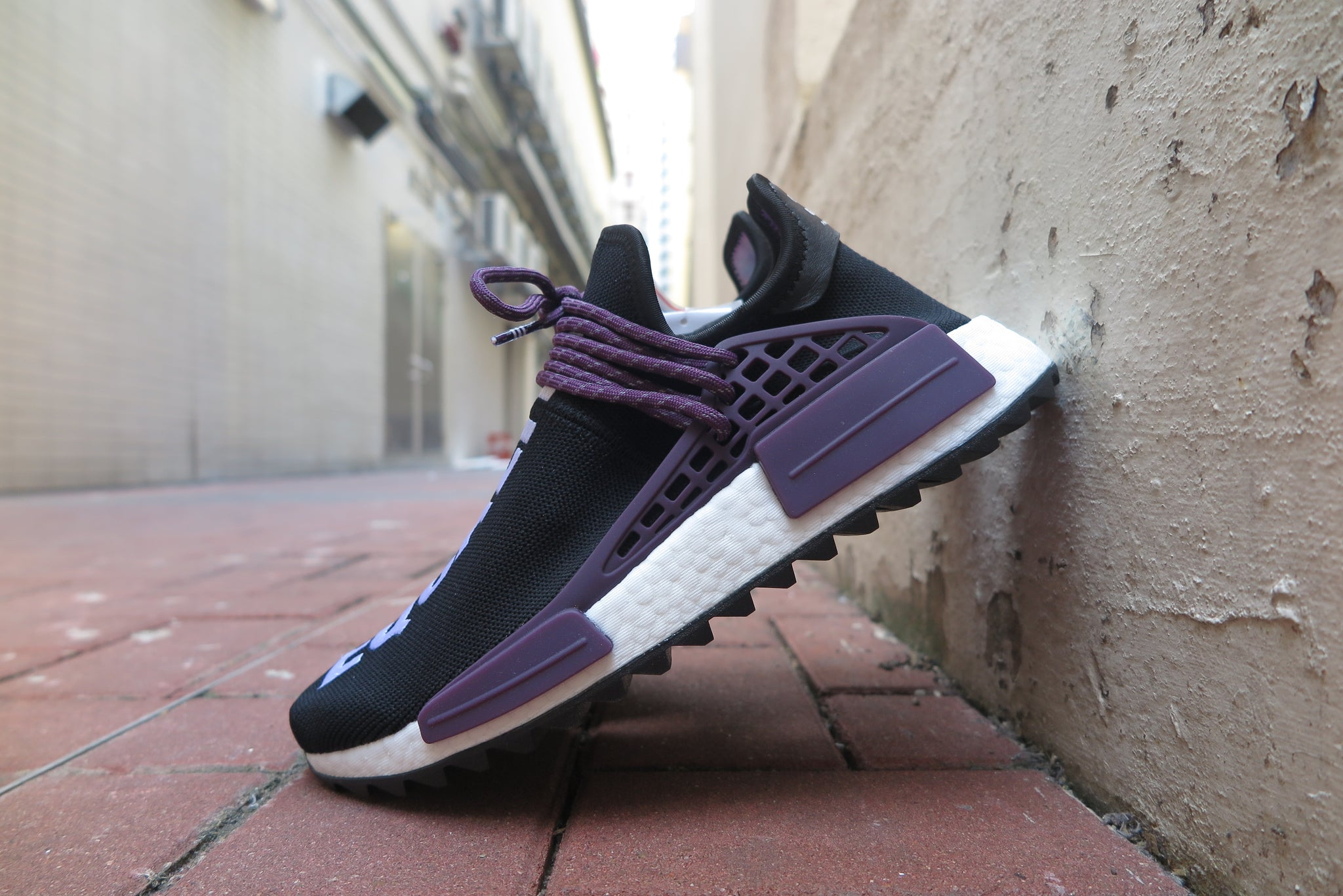 Pharrell Williams X adidas NMD Hu Holi MC - Core Black/Supplier Colour #AC7033-Sneakers-Navy Selected Shop