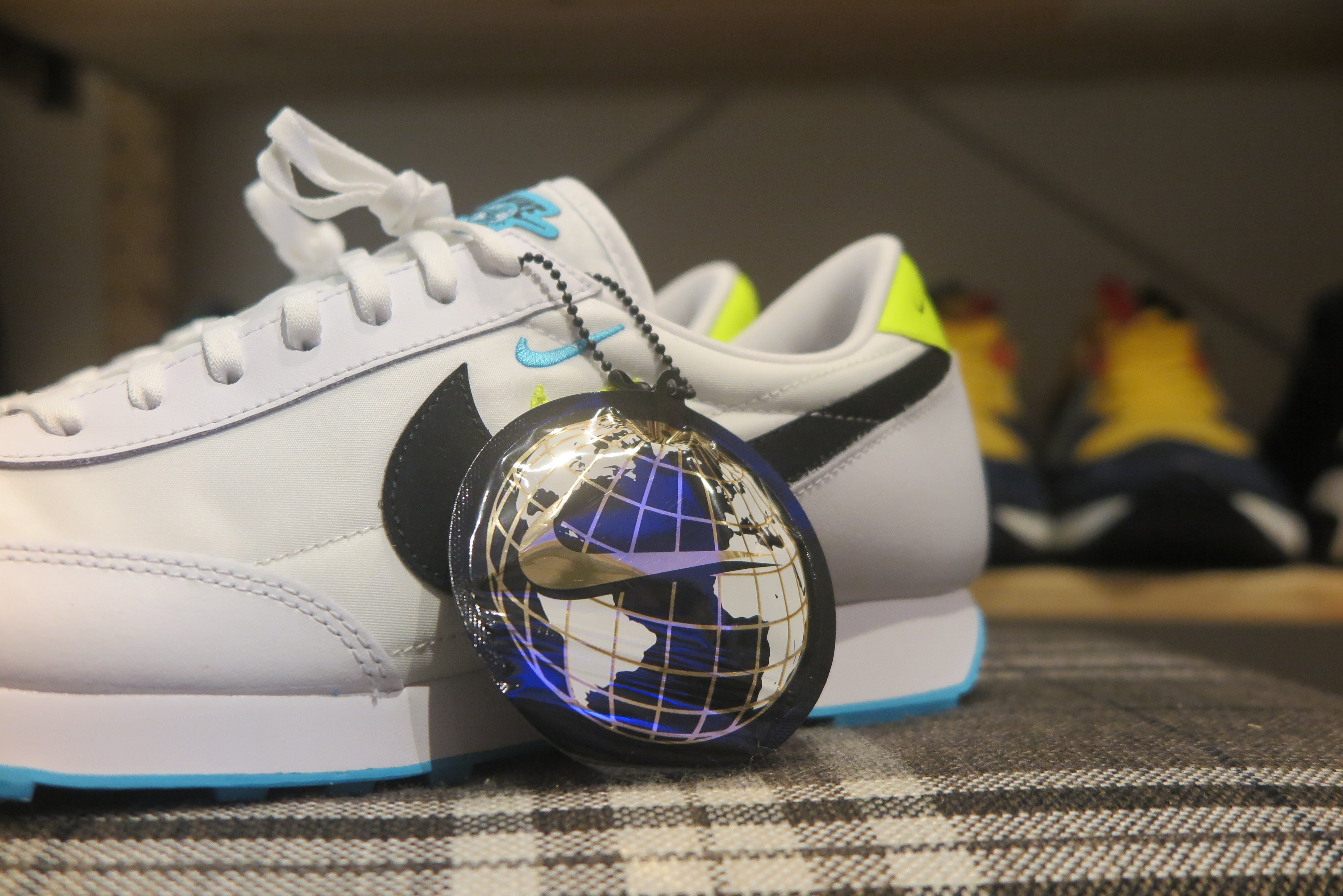 "Nike WMNS Daybreak SE ""Worldwide Pack"" - White/Black/Blue Fury #CK2606-100-Preorder Item-Navy Selected Shop"