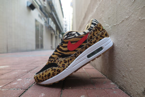 "Atmos X Nike Air Max 1 DLX ""Animal Pack"" - Wheat/Sport Red/Bison #AQ0928-700-Sneakers-Navy Selected Shop"