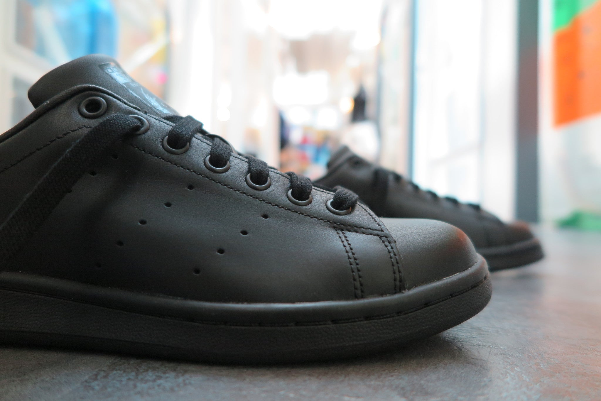 adidas Stan Smith - Core Black #M20327-Sneakers-Navy Selected Shop