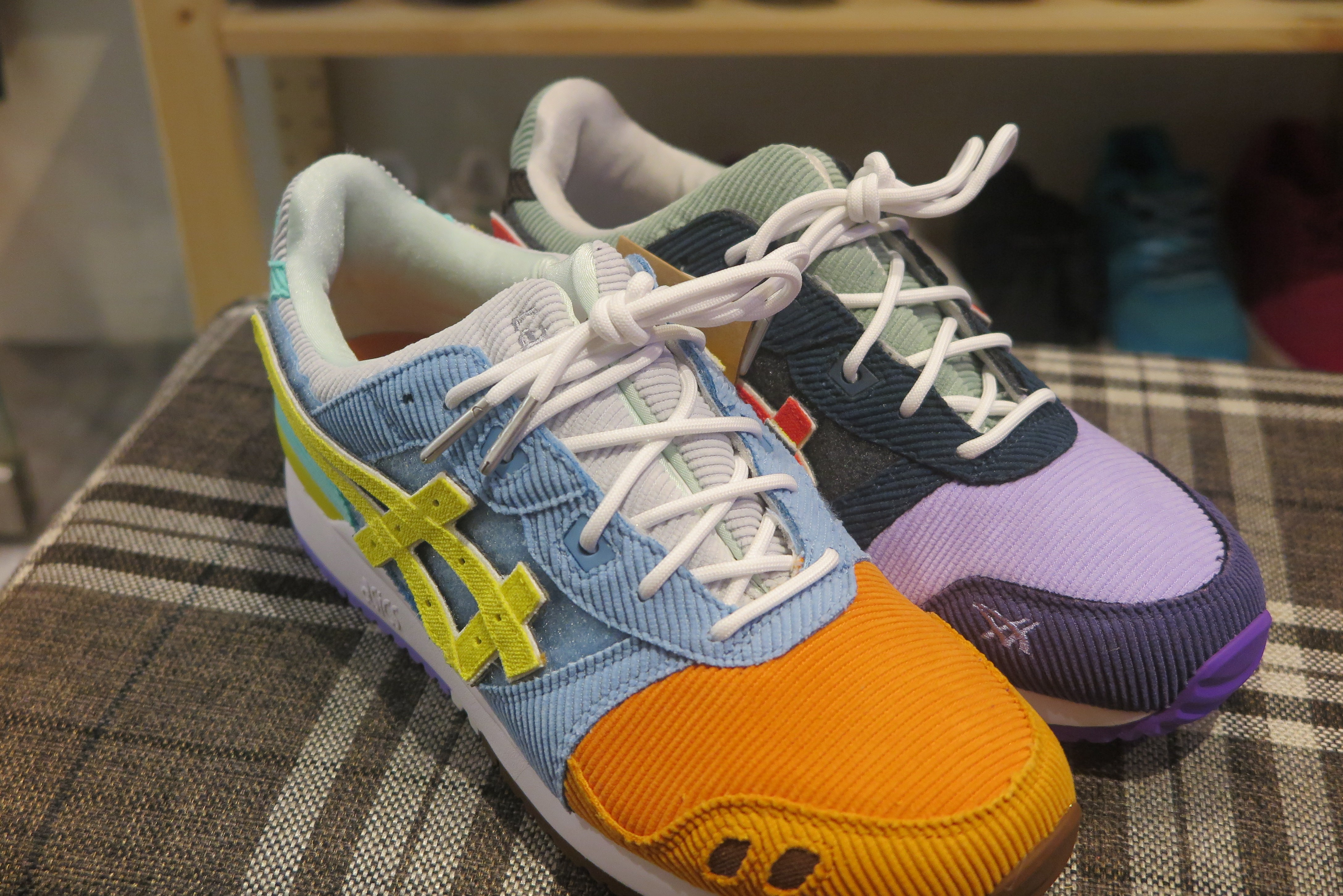 Atmos x Sean Wotherspoon x Asics Gel Lyte III OG - Multi #1203A019-000-Sneakers-Navy Selected Shop
