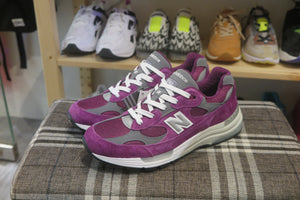 New Balance M992BA Made in USA-Sneakers-Navy Selected Shop