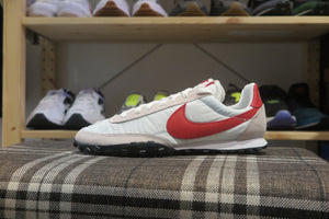 Nike Waffle Racer - White/University Red/Platinum Tint #CN8116-100-Preorder Item-Navy Selected Shop