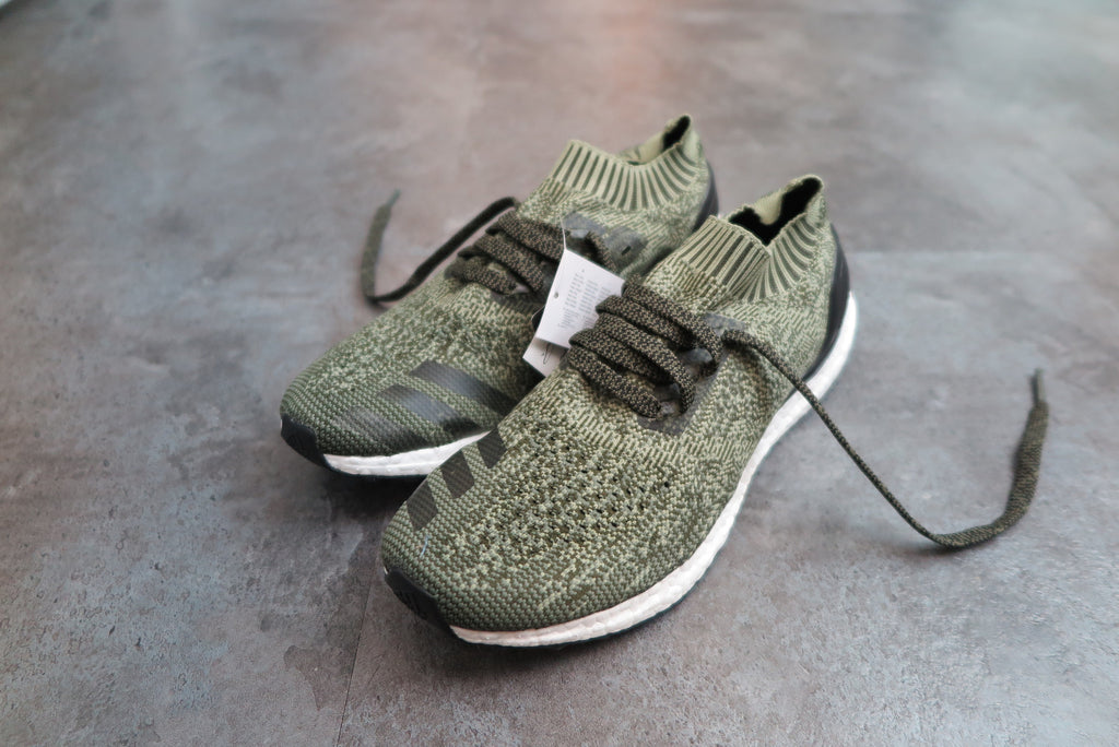 adidas Ultra Boost Uncaged - Base Green/Core Black/Tent Green #BB3901-Sneakers-Navy Selected Shop