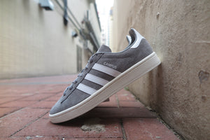 adidas Campus - Grey Heather/Running White/Chalk White #BZ0085-Preorder Item-Navy Selected Shop