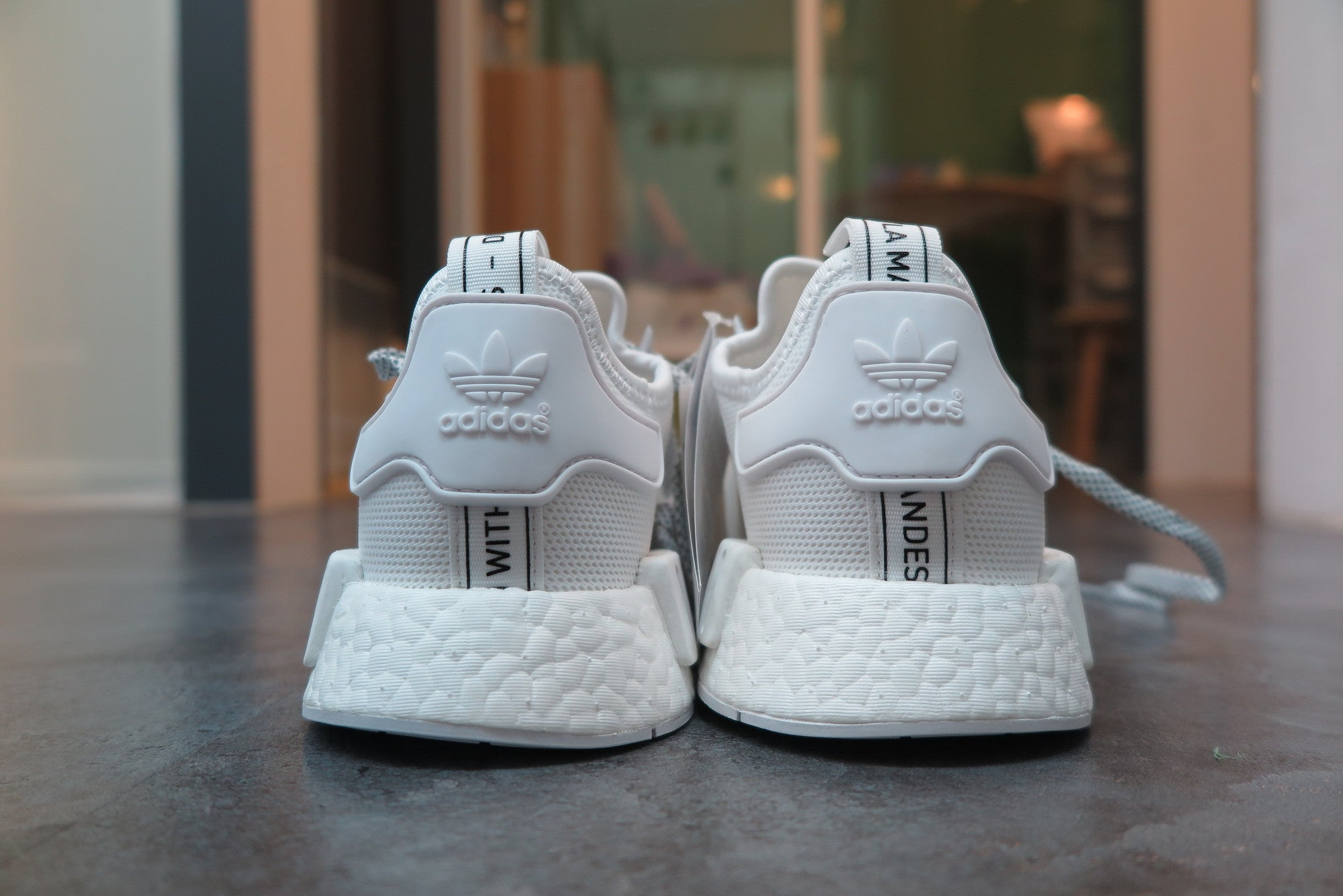 "adidas NMD_R1 ""Reflective"" - Footwear White/Footwear White #S31506-Sneakers-Navy Selected Shop"