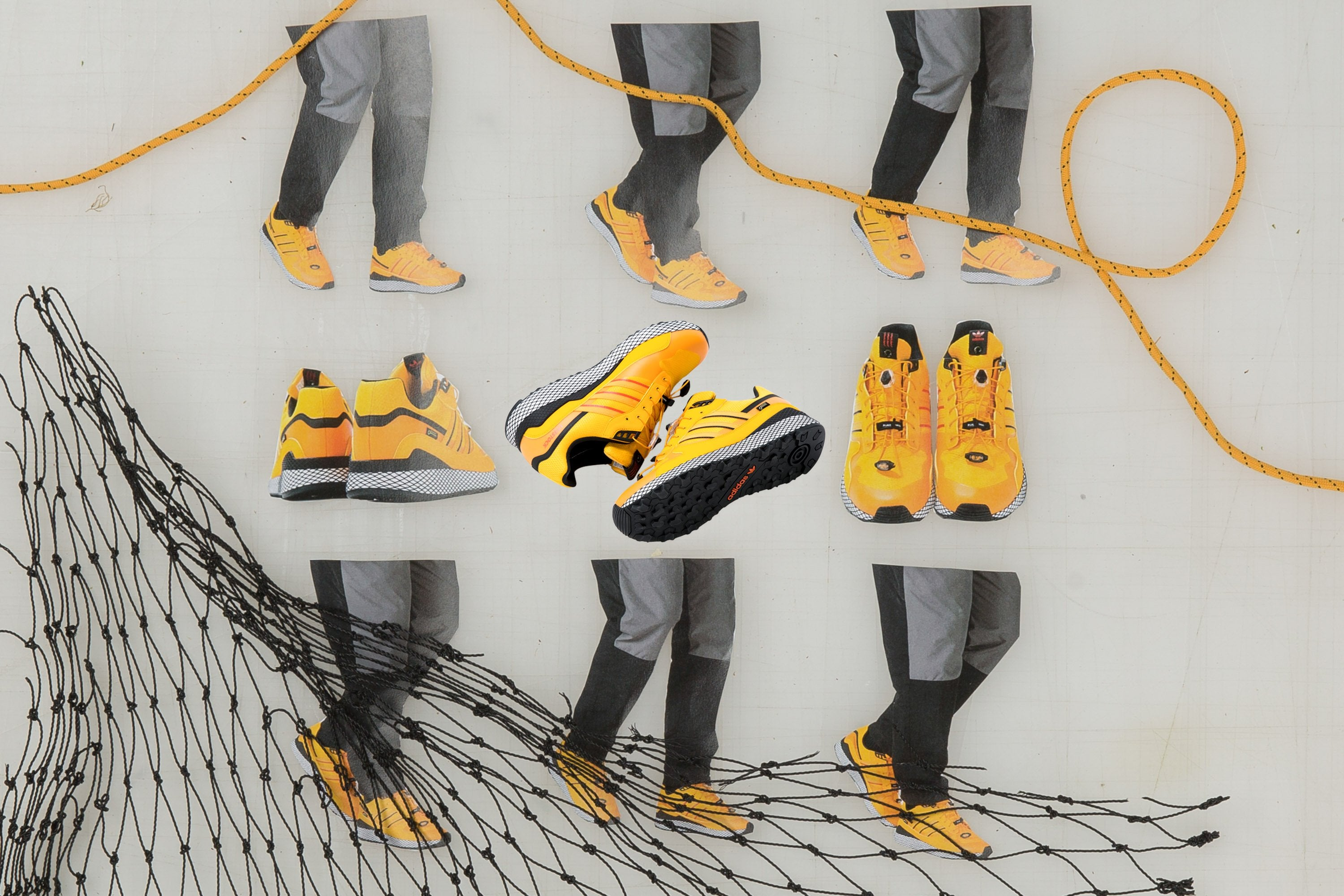 Livestock x adidas Ultra Tech GTX - Yellow/Core Black #B37852-Preorder Item-Navy Selected Shop