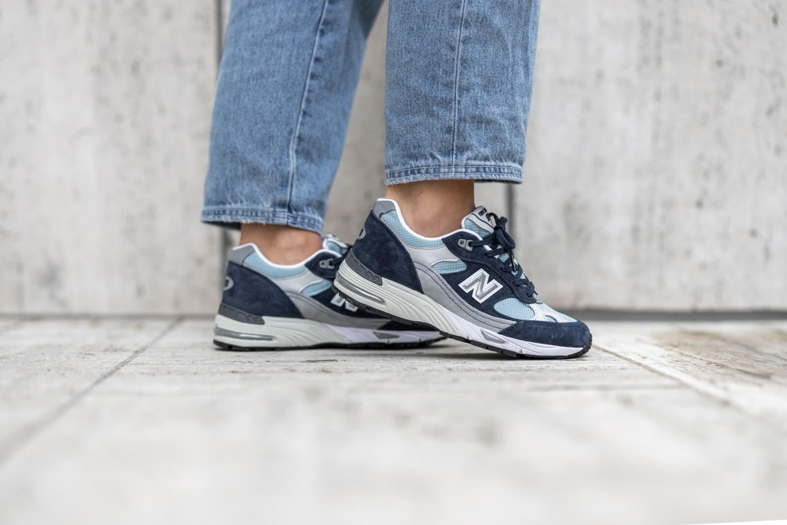 New Balance W991NBP Made in England-Preorder Item-Navy Selected Shop