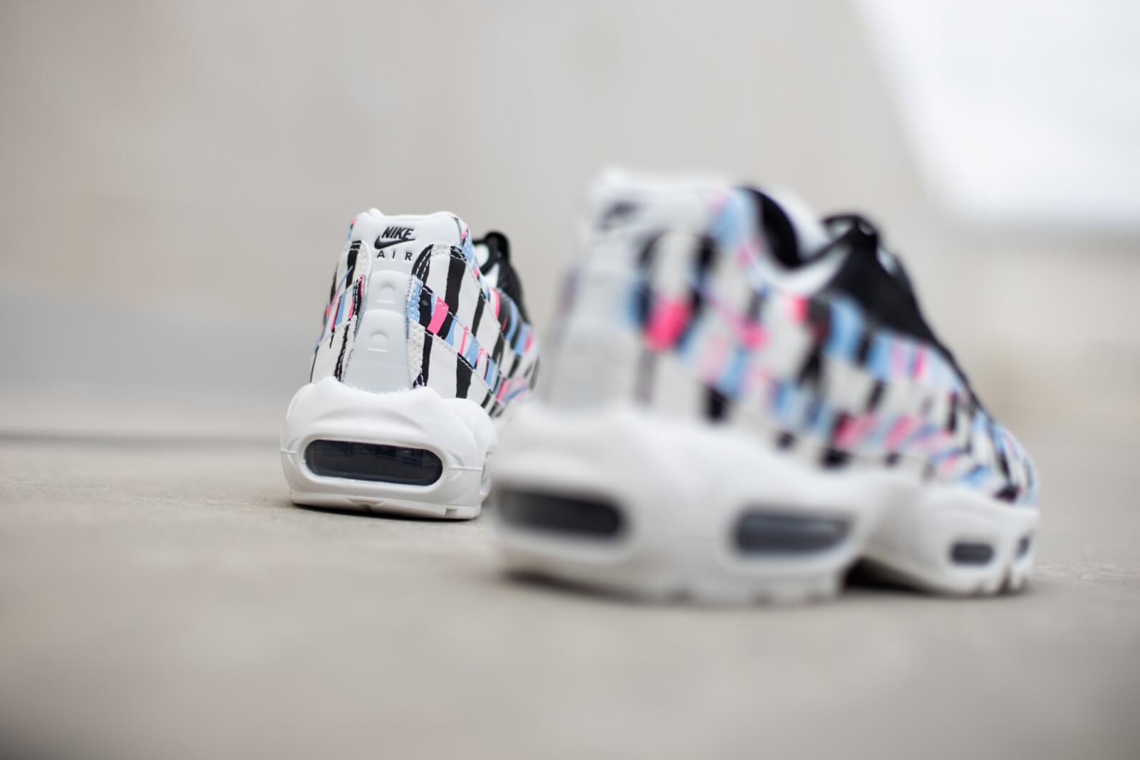 "Nike Air Max 95 CTRY ""Korea"" - 	White/Royal Tint/Racer Pink/Black #CW2359-100-Preorder Item-Navy Selected Shop"