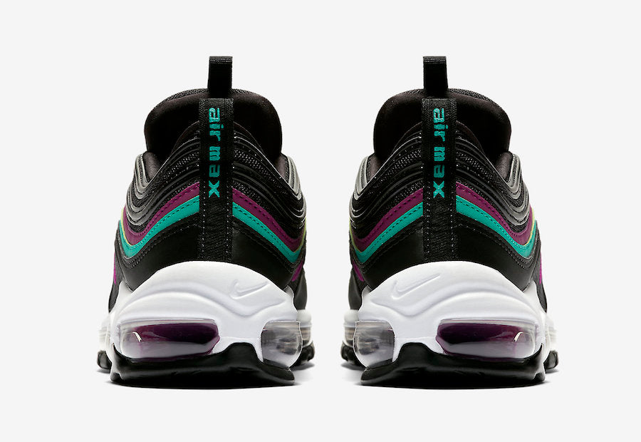 Nike WMNS Air Max 97 - Black/Bright Grape/Clear Emera #921733-008-Preorder Item-Navy Selected Shop