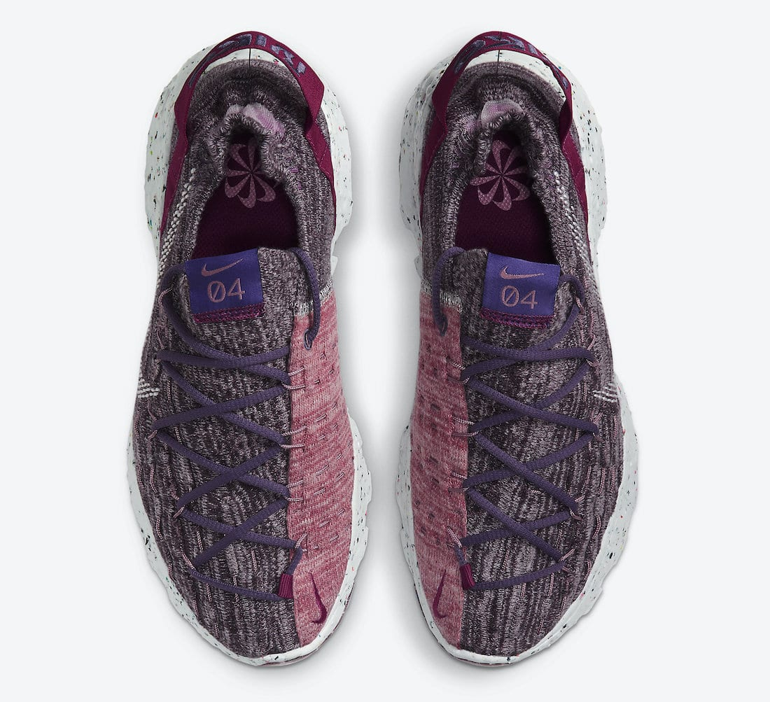 Nike WMNS Space Hippie 04 - Cactus Flower/Photon Dust/Gravity Purple #CD3476-500-Preorder Item-Navy Selected Shop
