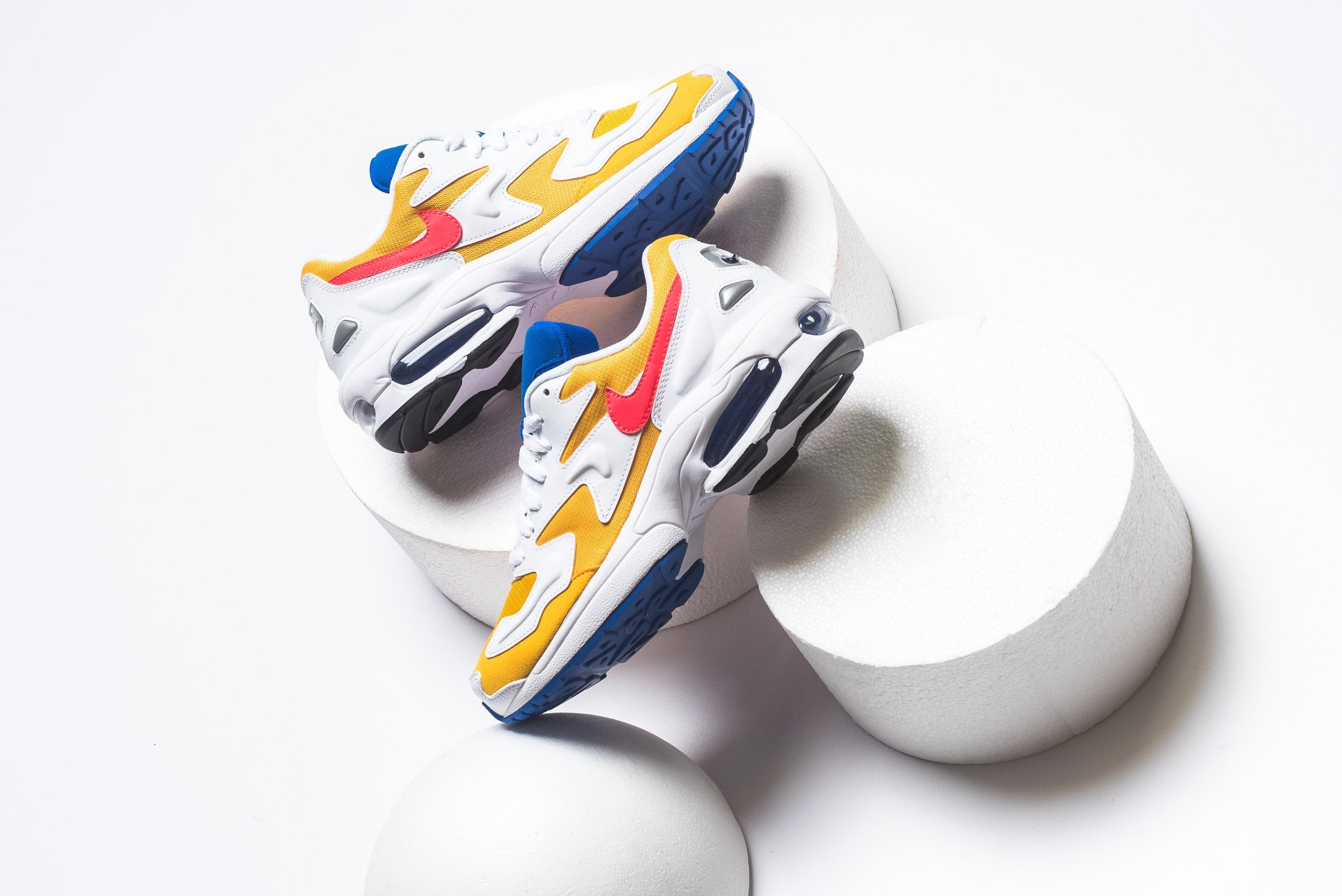 Nike Air Max2 Light - University Gold/Flash Crimson #AO1741-700-Preorder Item-Navy Selected Shop