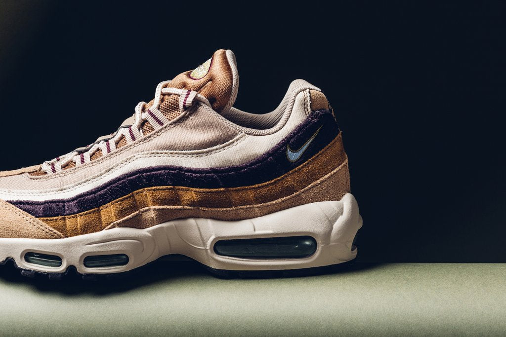 Nike Air Max 95 Premium - Desert/Royal Tint/Camper Green #538416-205-Preorder Item-Navy Selected Shop
