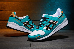 "Asics Gel Lyte III OG ""Daruma Doll"" - Baltic Jewel/Black #1201A180-300-Preorder Item-Navy Selected Shop"