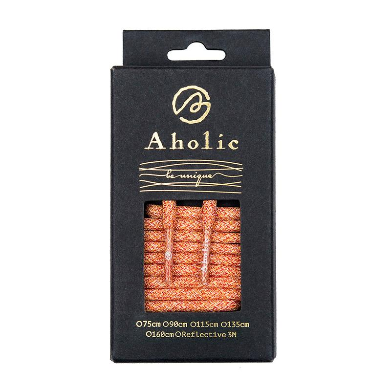 Aholic Multi-Color Shoelaces (迷彩混色鞋帶) - Orange Camo (橙迷彩)-Shoelaces-Navy Selected Shop