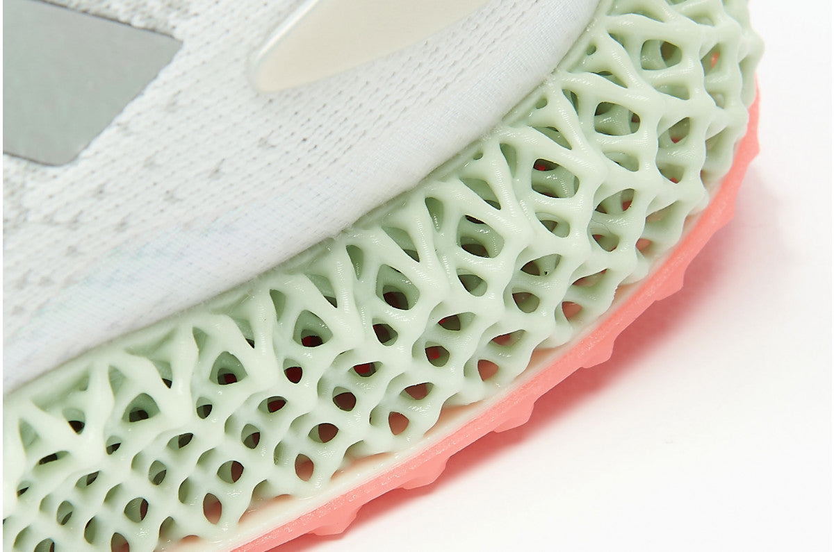 adidas Performance 4D Run 1.0 - Cloud White/Silver Metallic/Signal Pink #FV6960-Preorder Item-Navy Selected Shop
