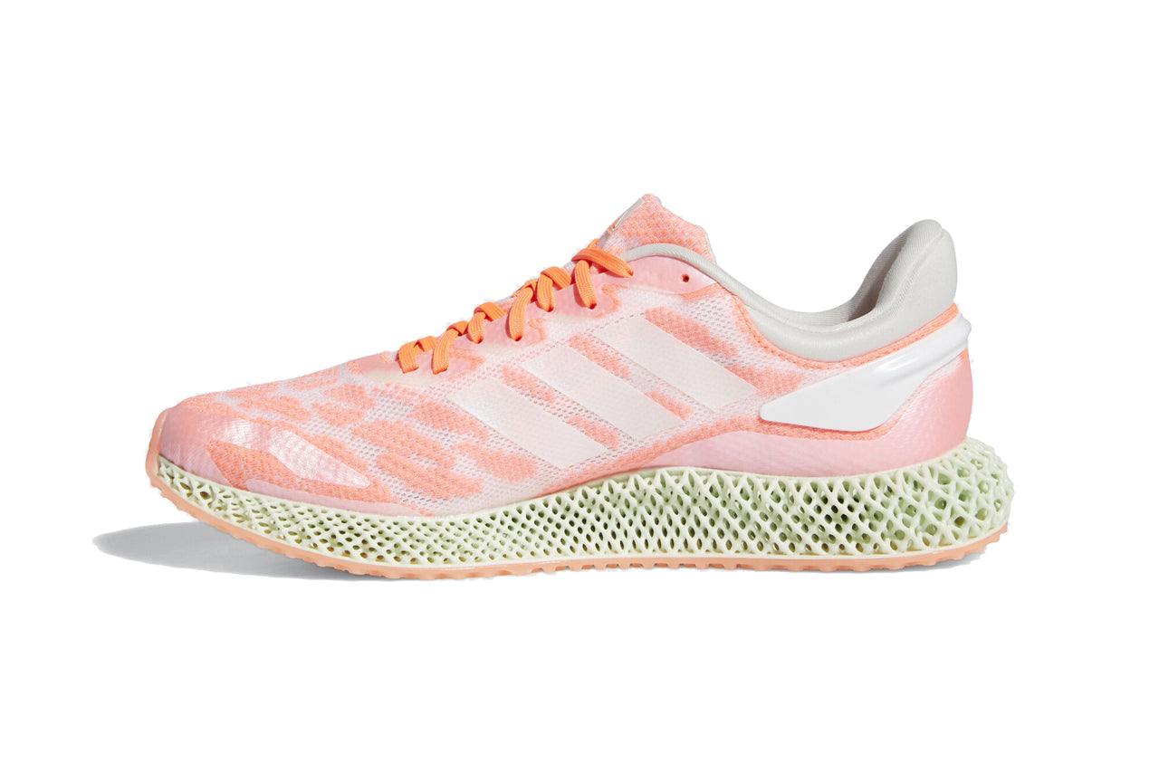 adidas Performance 4D Run 1.0 - Signal Coral/Footwear White #FW6838-Preorder Item-Navy Selected Shop