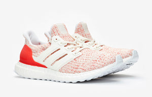 adidas WMNS Ultra Boost 4.0 - Chalk White/Active Red #DB3209-Preorder Item-Navy Selected Shop