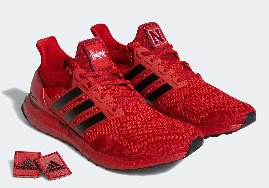 "adidas Ultra Boost 1.0 NCAA Pack ""Nebraska"" - Team Power Red/Core Black/Active Red #FY5806-Preorder Item-Navy Selected Shop"