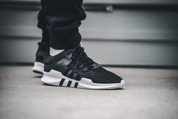 "adidas Equipment Support ADV ""Milled Leather"" - Core Black/Running White #BB1295-Preorder Item-Navy Selected Shop"