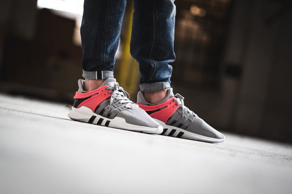 adidas Equipment Support ADV - Medium Grey Heather Solid Grey/Core Black/Turbo #BB2792-Preorder Item-Navy Selected Shop