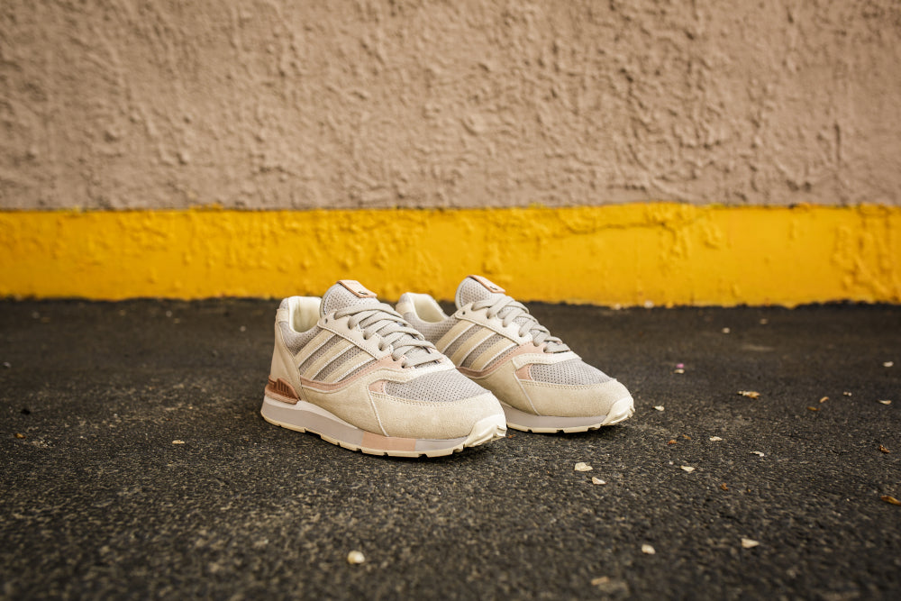 Solebox X adidas Quesence - Core White/Sesame #DB1785-Preorder Item-Navy Selected Shop