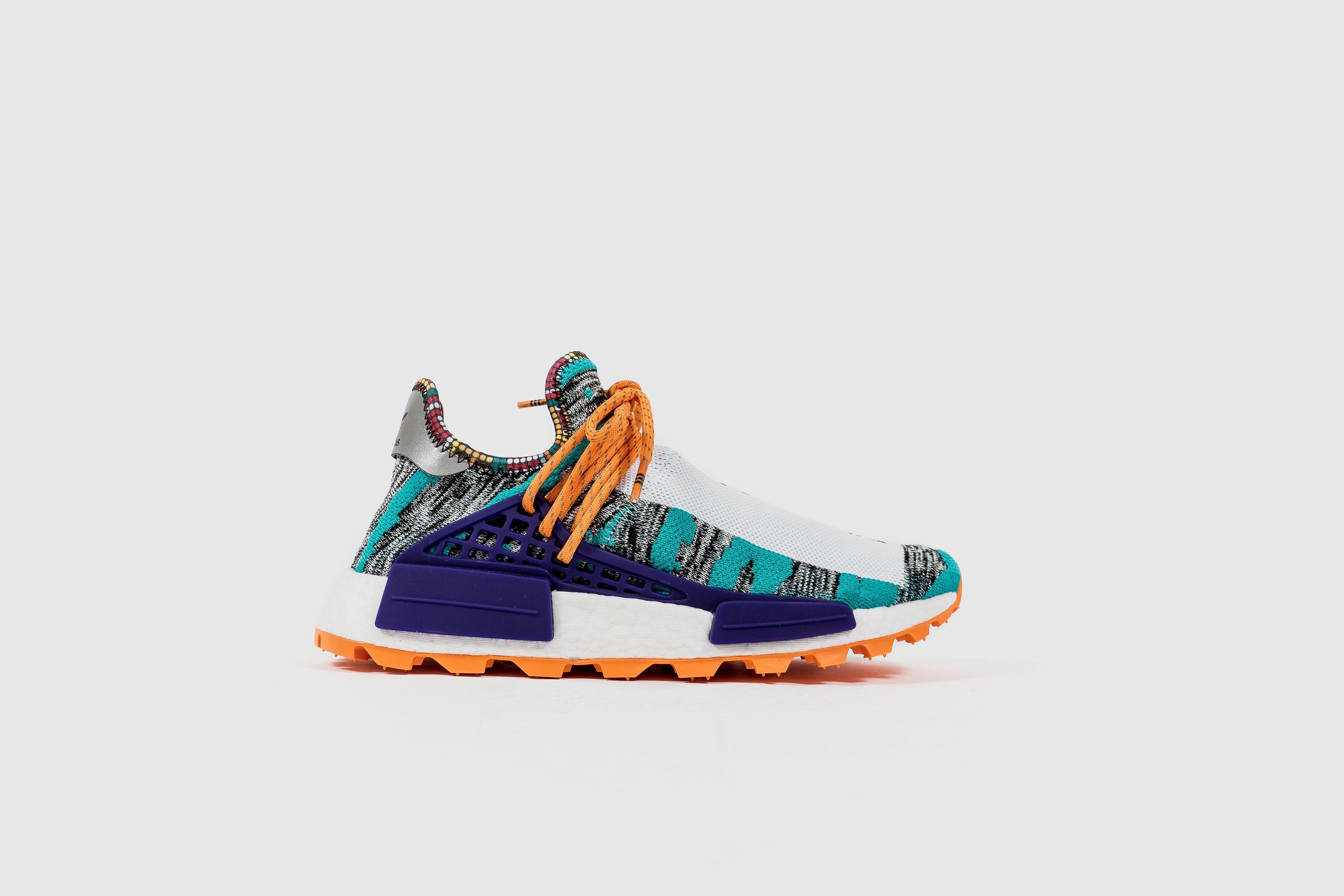 "Pharrell Williams X adidas NMD HU AFRO ""Solar Pack"" - Aqua/Core Black/Supplier Colour #BB9528-Preorder Item-Navy Selected Shop"