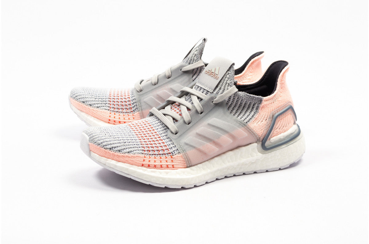 adidas WMNS Ultra Boost 19 - Grey Two/Clear Orange/True Orange #B75881-Preorder Item-Navy Selected Shop