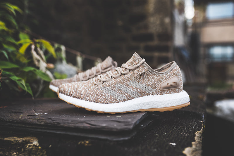 adidas Pure Boost - Trace Khaki/Clear Brown #S81992-Preorder Item-Navy Selected Shop