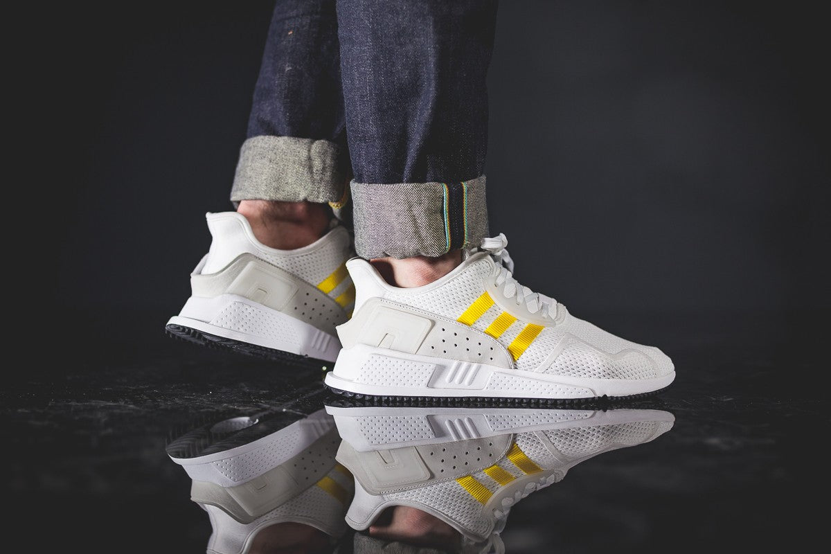 best service a3c66 98b51 closeout yellow silver womens adidas eqt shoes 32abb 1c4c6