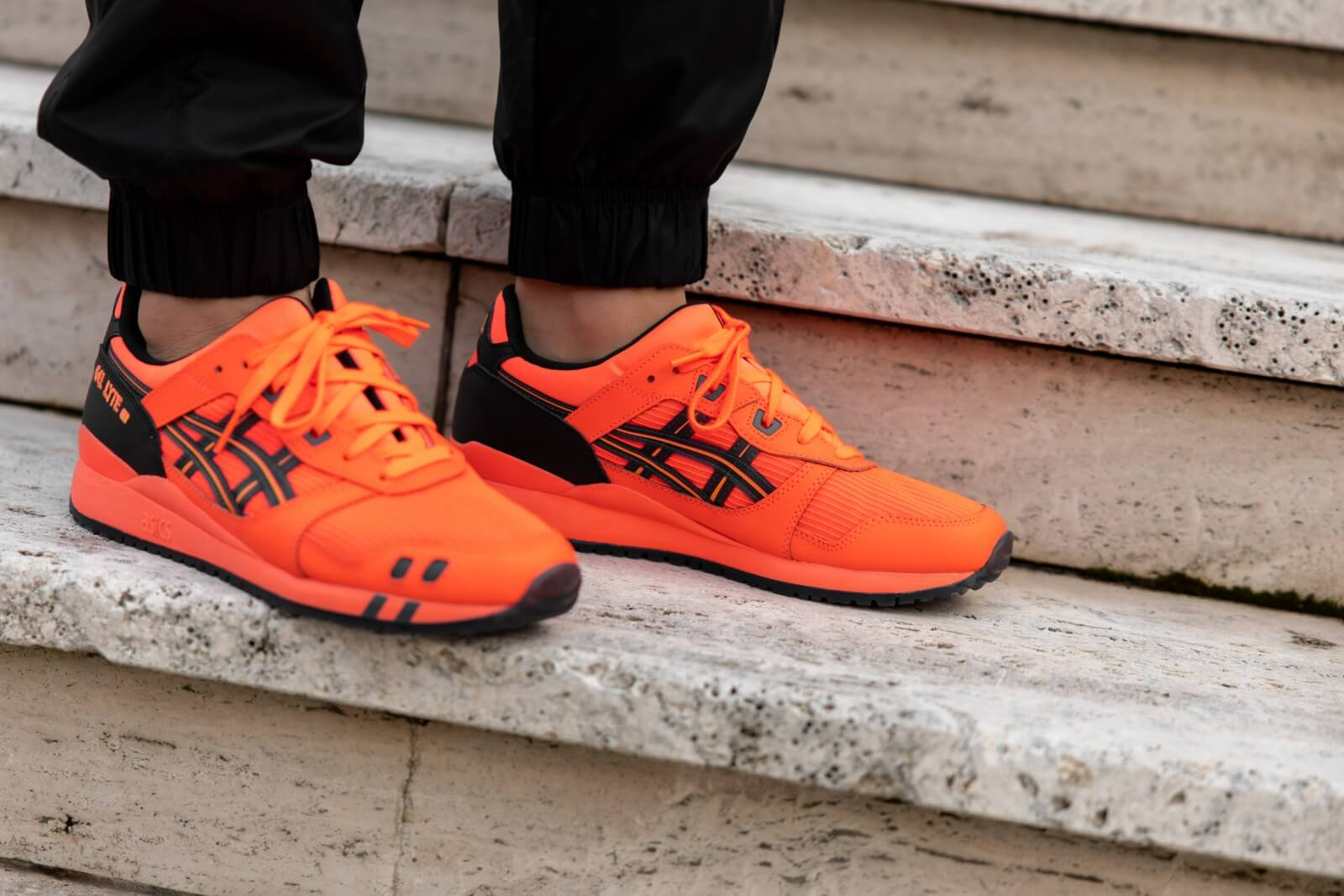 Asics Gel Lyte III OG - Sunrise Red #1201A052-700-Preorder Item-Navy Selected Shop